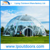 De transparante Tent van de Koepel van het Frame van het Staal van de Dekking van pvc Geodetische Halve voor OpenluchtGebeurtenis