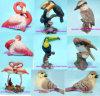De Flamingo van Polyresin, de Toekan van de Hars