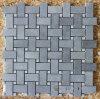 薄い灰色のBluestone Mosaic、Basketweave MosaicおよびMosaic Tiles
