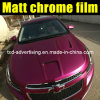 Nuovo Styling 1.52X20m Film Vinyl Wrapping per The Car Matte Chrome