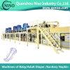 Польностью Servo автоматическое высокоскоростное оборудование санитарной салфетки женщины