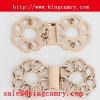 L'agrafe de boucles de la ceinture de maintien de Madame boucle la boucle de verrouillage de vêtement de boucle de boucle de paires