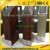 Профиль рамки деревянного зерна алюминиевый для украшения окна и двери