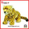 Animal relleno juguete del leopardo del leopardo de la felpa del leopardo del animal relleno