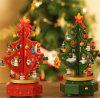 Albero di Natale di legno tagliato laser del mestiere dei 2017 nuovo punti per la decorazione domestica