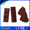 Disco de destello del USB 2.0 del silicón del chocolate de la alta calidad