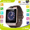 Карточка Bluetooth Smartwatch шагомер SMS SIM Frice фабрики Dz09 Mtk6261d Android