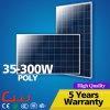 el panel polivinílico de los productos de la Sistema Solar de 40W 100W 250W