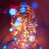 ストリング軽い3xaa電池式の携帯用軽い豆電球のクリスマスの新年の結婚式の装飾ライト