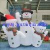 Lustiger aufblasbarer Schneemann für Bekanntmachen/Weihnachtsdekoration-Schneemann