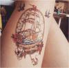 Etiqueta engomada temporal impermeable del tatuaje del arte de la etiqueta engomada del tatuaje del mar del verano