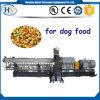 Gránulos gemelos/alimento de la hoja del estirador de tornillo/de perro de la dimensión de una variable de barra que hace la máquina