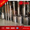 Máquina de destilación del destilador del equipo de la columna de cobre para la vodka y la ginebra