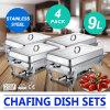 4 пакета комплекты ссаживая тарелки жук-чефера 9 кварт складывая прямоугольные