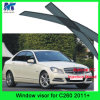 De Opening van de Deur van het Vizier van de Regen van de Auto van de Punten van de Decoratie van de auto voor Benz C260 2011+