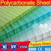 Материал девственницы парника 10mm поликарбоната минимальный двойной UV