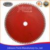 Cirkelzaag van het Blad van het Graniet van de Pers van 230mm de Koude voor Scherp Graniet