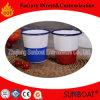 Tazza dello smalto di Sunboat/tazza/Enamelware porcellana dell'elettrodomestico per bere