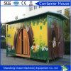 Leicht aufgebautes vorfabriziertes gemodularisiertes Behälter-Haus mit Umweltschutz