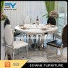 Tavola rotonda della Tabella pranzante del ristorante di marmo della mobilia