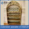 304#Stainless Koran de bronce verde de acero Bookrack para la mezquita