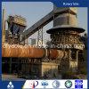 Chinees die Lopende band van de Kalk van de Roterende Oven van Kalk 100-600 Tpd de Actieve Voor de Productie van de Kalk van de Metallurgie leiden