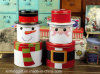 Tre Layered Tea e Gift e Food Tin Box per il giorno di Natale