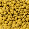 Matérias- primas de borracha de EVA da fábrica amarela do grânulo do deslizador de EVA