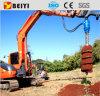 Инструмент земного отверстия Beiyi Bys3000 выкапывая, гидровлическая почва/земля/сверло сверла песка для миниых землечерпалки/трактора