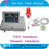 Einzelnes Twins 8.4 Inch Fetal Monitor mit Toco/Ultrasonic Transducer Fetal Mark für Pregnant Women Fetal Heart Rate Monitoring durch CE ISO Approved - Maggie