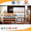 Кровать комплекта спальни мебели высокого качества классическая деревянная (UL-605)