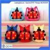 Fabrication de sacs d'école d'enfant de sac à dos de jouets de peluche de caractère de coccinelle de peluche
