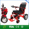 Sedia a rotelle più chiara astuta di energia elettrica di piegatura per gli handicappati
