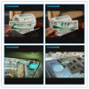 UHF RFID Анти--Переносит стикер держателя лобового стекла