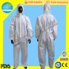 Wegwerfbares PP/Non-Woven Coverall, Visitor Overalls mit Full Protection