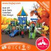 Castelo Bright Kindergarten Slide Outdoor Playground para Sale