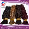 Curly Hair Cuticle Remy Virgin Bulk Hair Brazilian Hair (HKCB-A611)