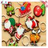 Natal personalizado Keychain do PVC dos presentes da promoção