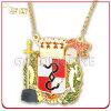 Подгонянный медальон празднества Carnaval покрынный золотом