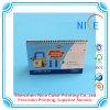 Calendario de escritorio de encargo del papel de la alta calidad con las fotos