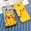 Pikachu lindo Bulbasaur Pokemon va los casos del iPhone 6s de TPU