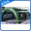 Gaint Inflatable Paintball Enclosures Durable Tent für Interactive Sports Price