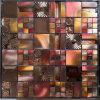 Mosaico do aço inoxidável do metal da telha & do alumínio do mosaico do cristal (FYML128)