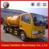 4X2 de speciale VacuümVrachtwagen van de Riolering
