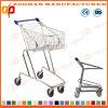 Supermarché en métal de qualité remettant le chariot à achats (ZHt263)