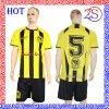 짧은 소매 축구 제복 셔츠를 주문 설계한다