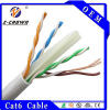 PVC CAT6 Solid/Stranded Cable di Kabel UTP 4p