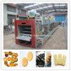 Máquina do biscoito com controle do PLC para o uso da fábrica