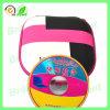 Изготовленный на заказ логос упаковывая коробку DVD с застежкой -молнией (JCD05)