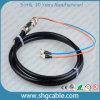 Cavo di zona ottico della fibra impermeabile duplex multimoda di FC/Upc